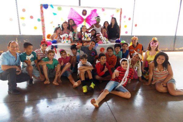 Comemoração do Dia das Crianças Núcleo Caic José Sampaio
