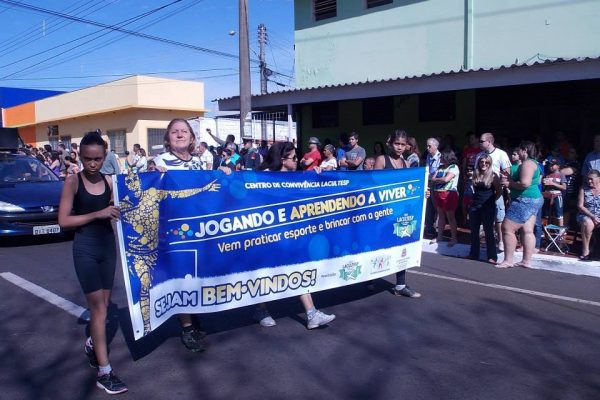 ONG Lacultesp participa do Desfile Cívico 7 de Setembro