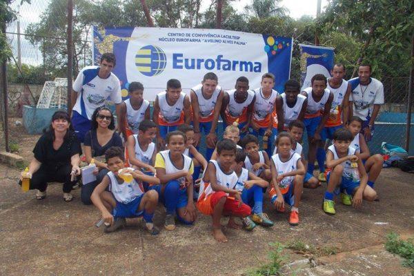 Adina, da Eurofarma, visita Núcleos patrocinados pela Empresa