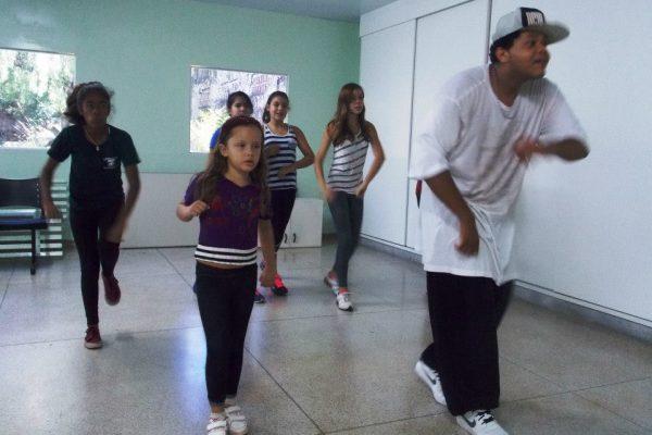 Danças Urbanas no Centro de Saúde da Vila Tibério