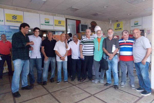 Evento de lançamento da Copa Sócrates Brasileiro