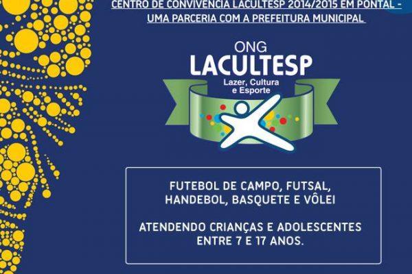 ONG Lacultesp lança atividades em Pontal
