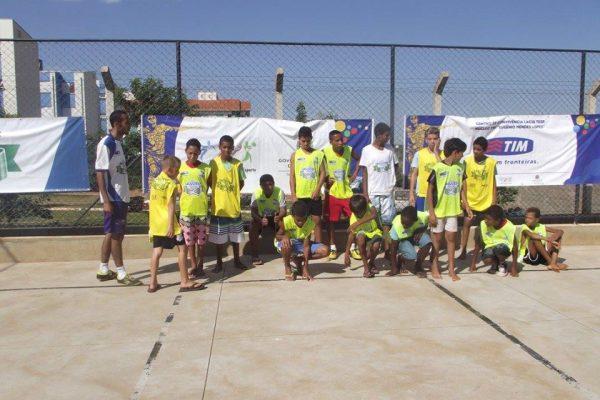Torneio de Futsal e Queimada no núcleo Eugênio Mendes Lopes